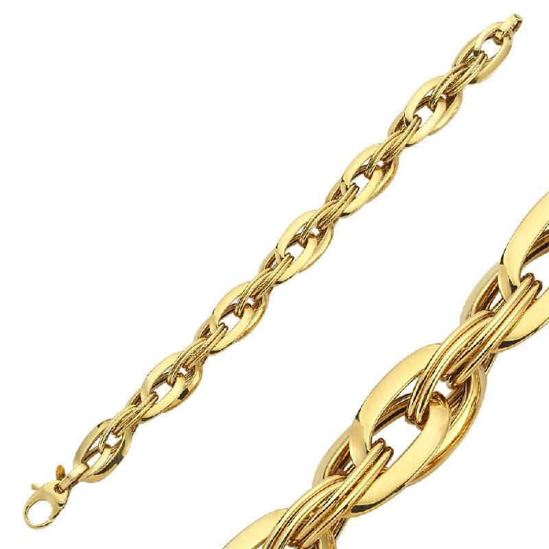İtalyan Tasarım Altın Bileklik