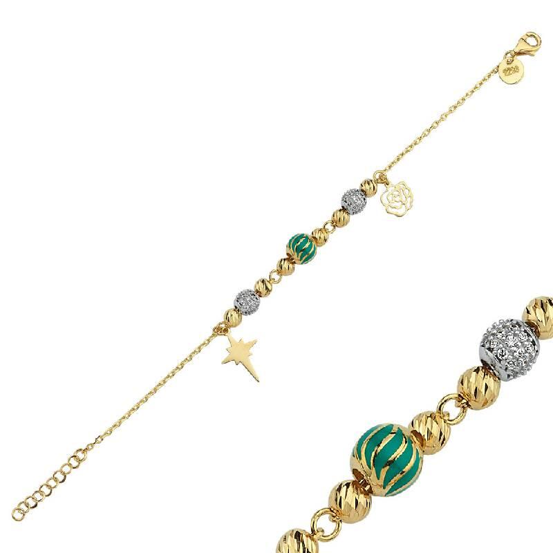Charm Altın Bileklik-BL10583-00-2293