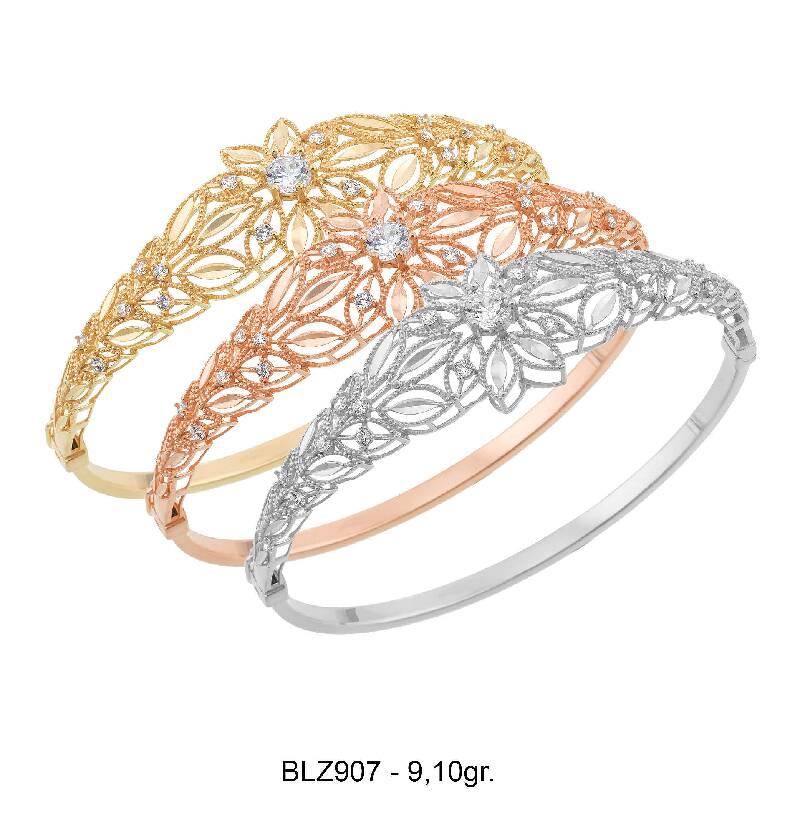 Altın Kelepçe Bilezik-Bir Renk Seçiniz