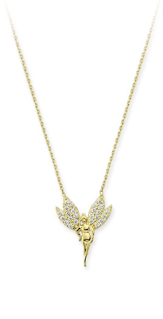 Peri Kızı Altın Kolye-KL6469