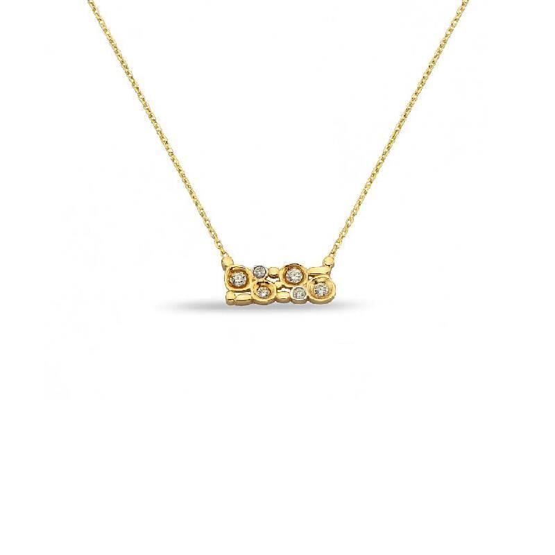 Taşlı Altın Kolye-KL6594