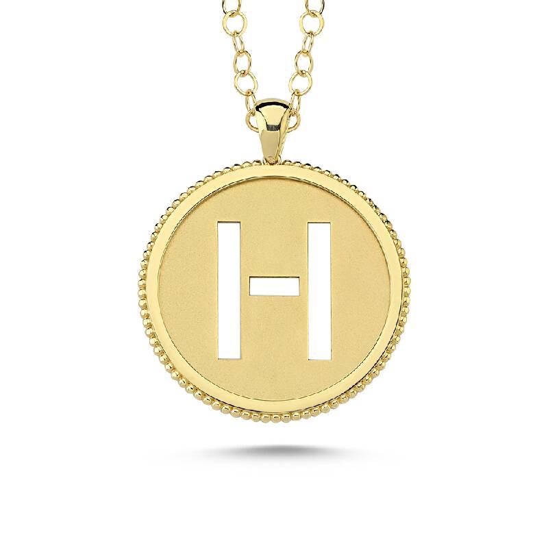 Altın Harf Kolye