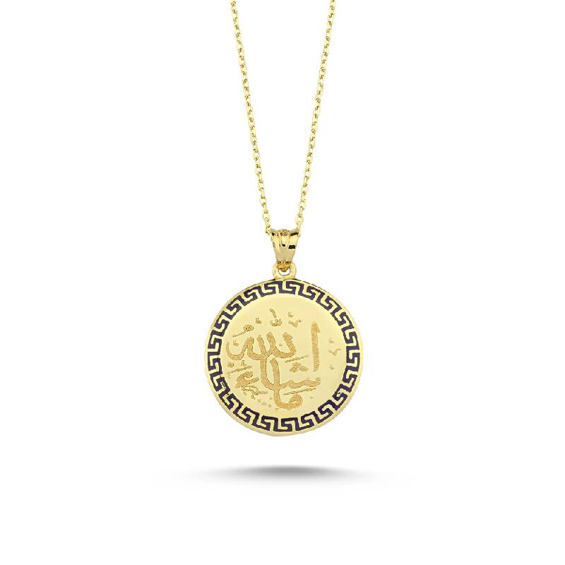 Altın Kolye-KL7109