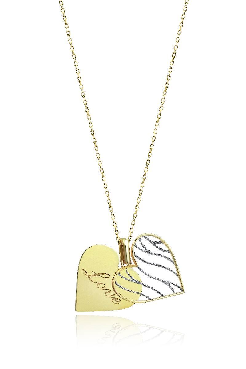 Kalpli Altın Kolye-KL7379