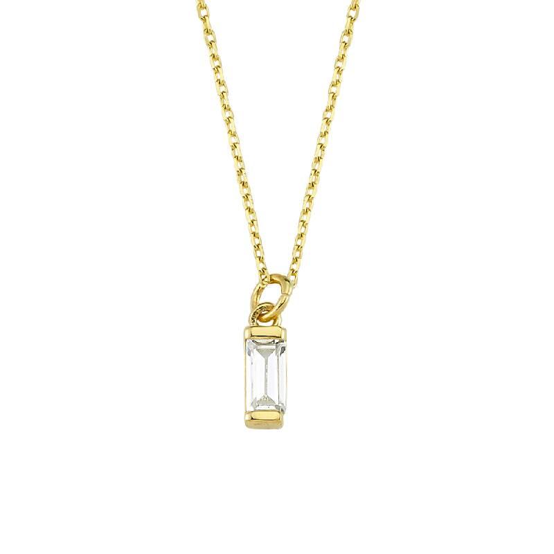 Taşlı Altın Kolye-KL8146
