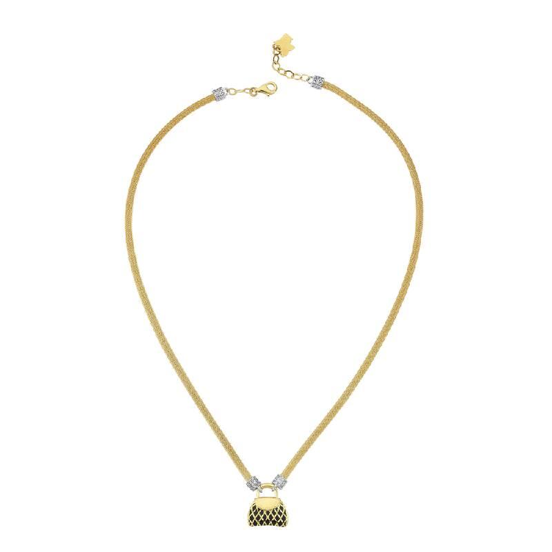 Çanta Figürlü Altın Kolye