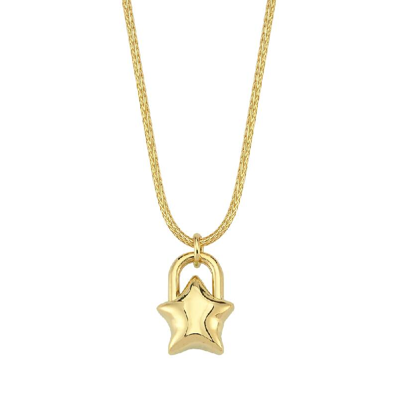 Yıldız Figürlü Altın Kolye