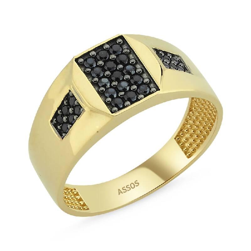 Altın Erkek Yüzük-Y23338