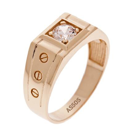 Altın Erkek Yüzük-Y23750