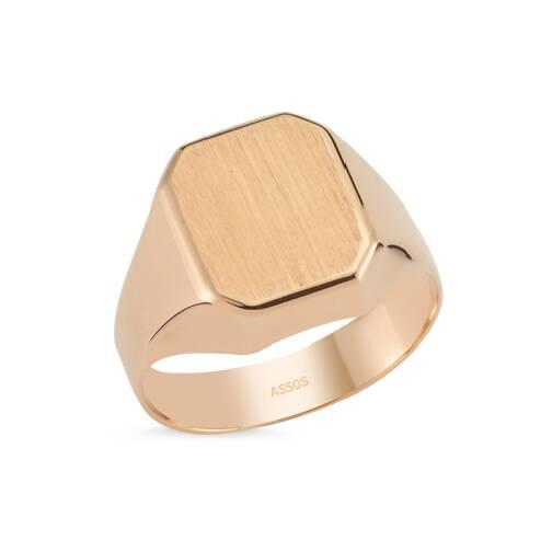 Altın Erkek Yüzük-Y25837