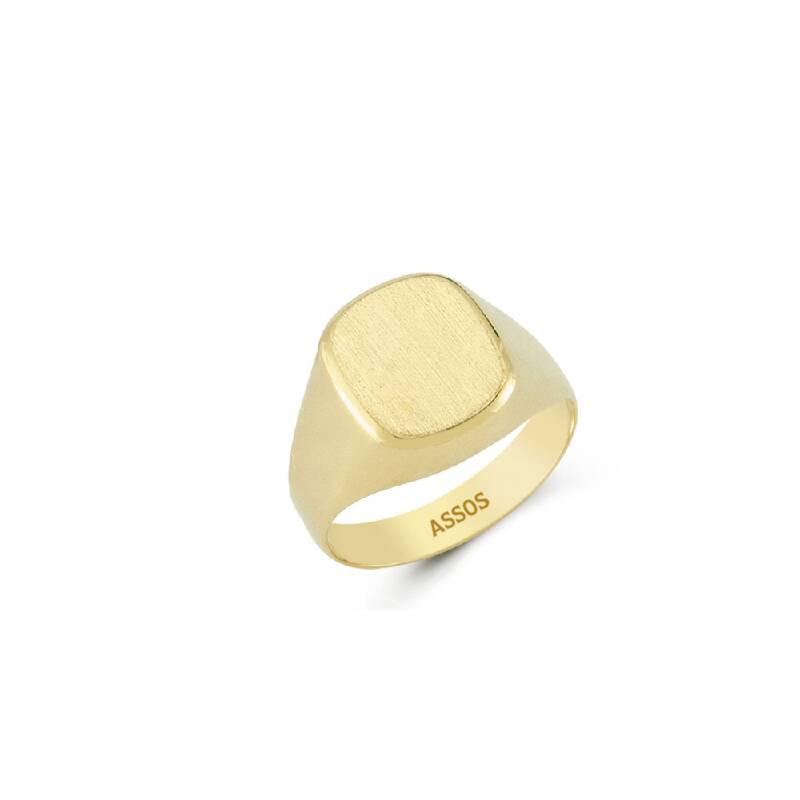 Altın Erkek Yüzük-Y25839