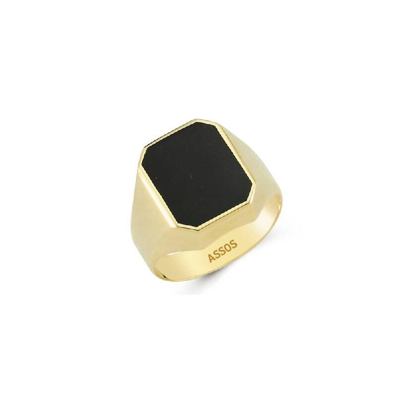 Altın Erkek Yüzük-Y25843