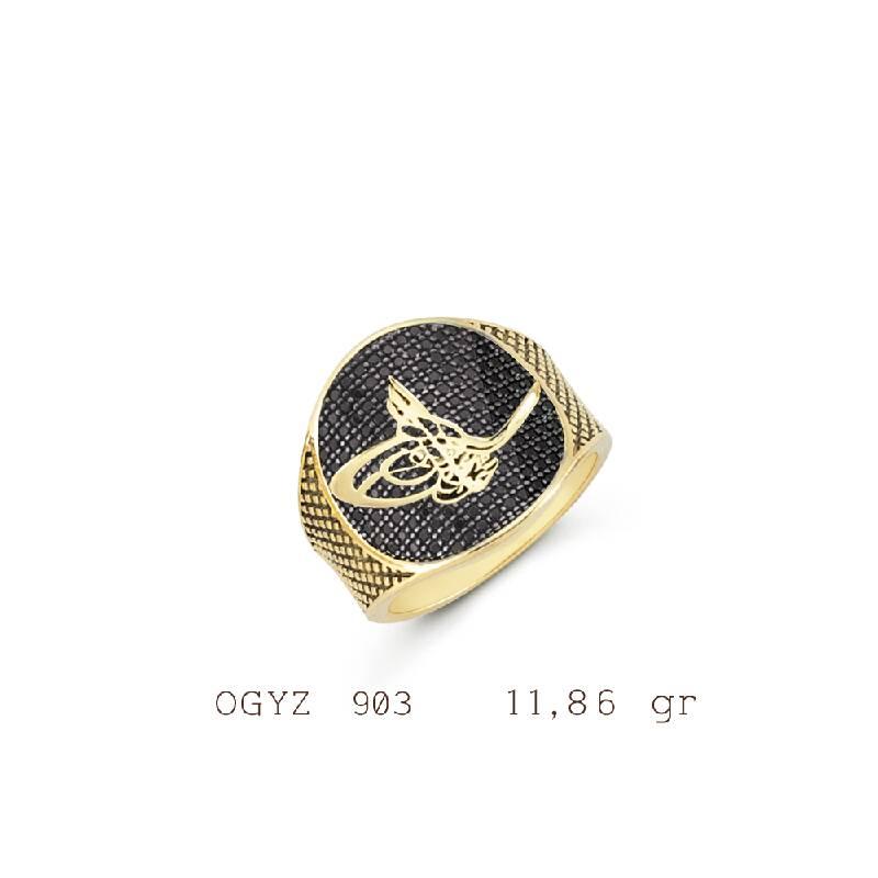 Altın Erkek Yüzük-Y26077