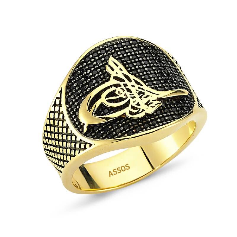 Altın Erkek Yüzük-Y26085