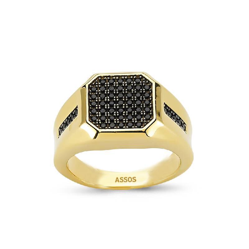 Altın Erkek Yüzük-Y26475