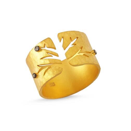 Arcadia Bereket Altın Yüzük