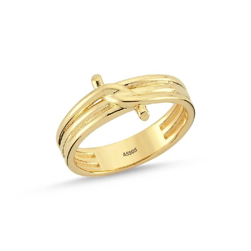 Düğüm Altın Yüzük